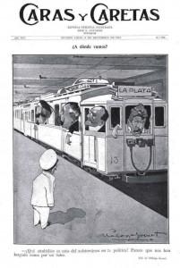 ¿A dónde Vamos? Caras y Caretas (1913)