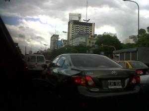 congestion 9 de julio